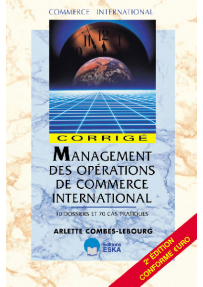 Management des opérations de commerce international - corrigé