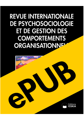 Revue Internationale de Psychosociologie (epub)