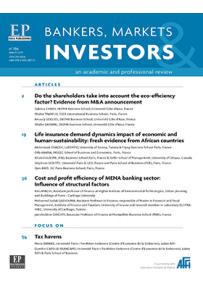 bankers, markets & investors n° 151 june 2018