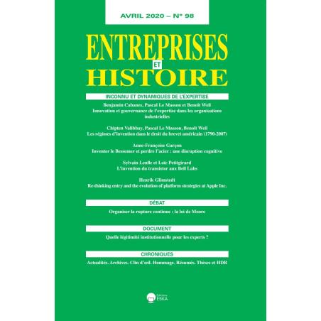 ENTREPRISES ET HISTOIRE : N°98