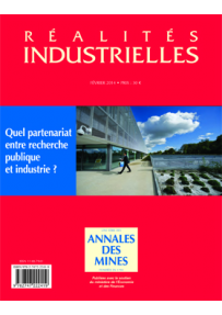 RI2014141 ART. Research partnerships in france and elsewhere, a constantly changing landscape