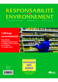 RE20147331 AFFICHAGE ENVIRONNEMENTAL : QUAND LE MARKETING S'HABILLE EN VERT