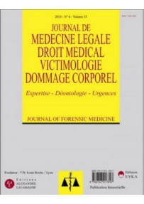 JOURNAL DE MEDECINE LEGALE & DROIT MEDICAL