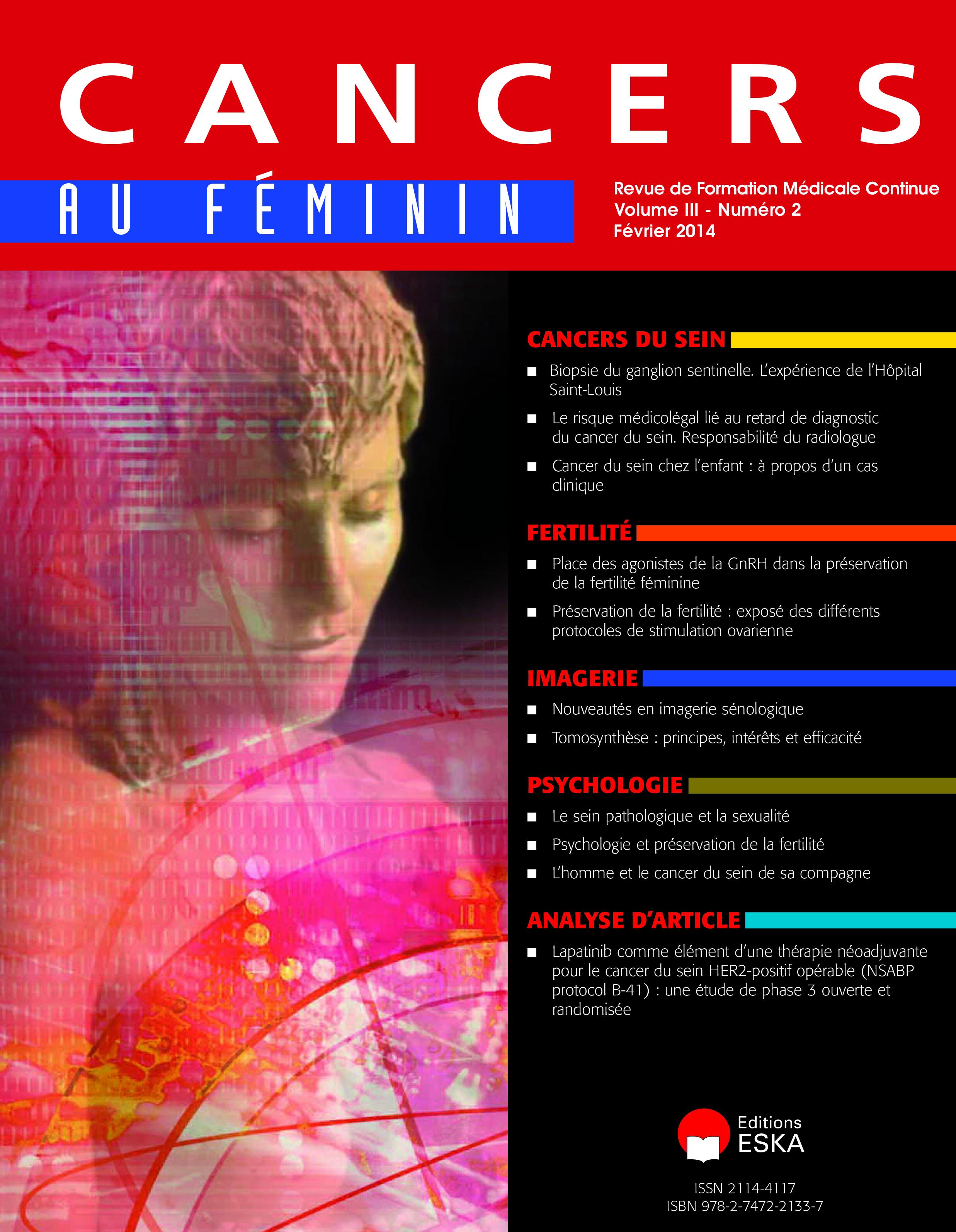 cancer au feminin)