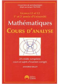 MATHEMATIQUES : cours d'analyse