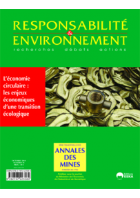 RE20147630 ART. THE CIRCULAR ECONOMY: THE ECONOMIC STAKES OF AN ENVIRONMENTAL TRANSITION