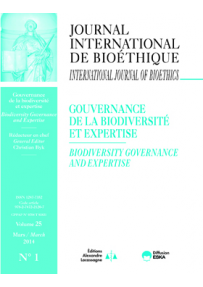IB2014100 SEE THE NUMBER 1: BIODIVERSITY GOVERNANCE AND EXPERTISE