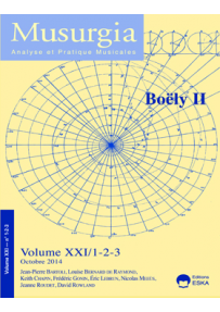 MU201412336 ART. TRADITION RENEWED IN THE TIME OF BOELY: THE EXAMPLE OF ETUDES « A LA MANIERE »...