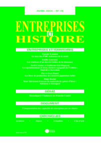 EH20147430 ART. TERRITORIES AND MOBILITIES OF FIRMS OF THE ITALIAN FASHION SYSTEM