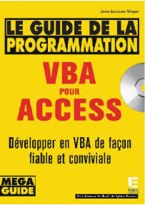 Le guide la programmation VBA pour ACCESS