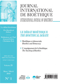 """IB2010131 ORGANISING DEMOCRACY AND TECHNO-SCIENCE: A CHALLENGE TO """"THE BRAVE NEW WORLD"""""""