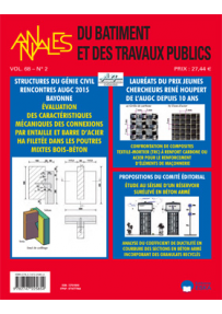 BT2015500 CONSULTER LE NUMERO 5 : GC'2015 : LE GENIE CIVIL EN TRANSITION