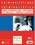 Criminalistique